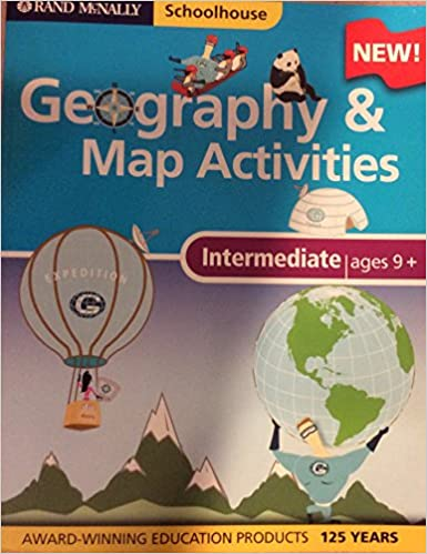 Amazon.com: Intermediate Geography & Map Activities (Rand McNally ...