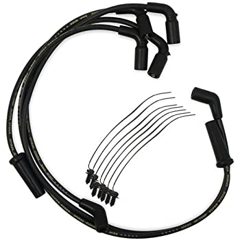 Amazon Com Accel 171116 R Ss Ignition Wire Set Motorcycle Custom