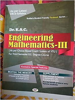 engineering mathematics 1 book of vtu