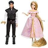 Disney Tangled Exclusive Rapunzel Flynn Rider Celebration Doll Set