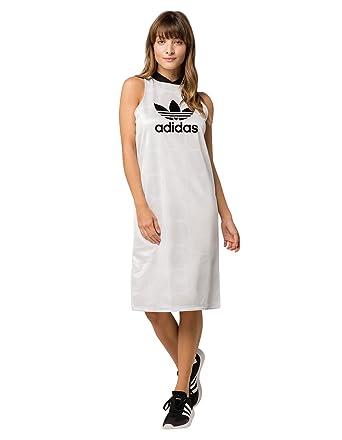 4624e9f984d adidas Originals Womens Fashion League Jaquard Tank Dress at Amazon Women's  Clothing store: