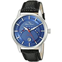 Lucien Piccard Men's LP-10154-03 Sorrento Analog Display Quartz Black Watch