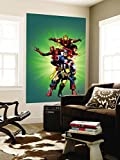 Wizard No.136 Cover: Captain America, Wolverine, Spider-Man, Spider Woman, Iron Man & New Avengers Wall Mural by Jim Cheung 48 x 72in
