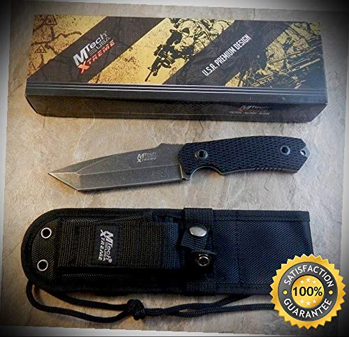 Xtreme Wakeboard - XTREME 9.5'' Fixed Blade Hunting Survival Sharp Knife G10 Handle - Outdoor For Camping Hunting