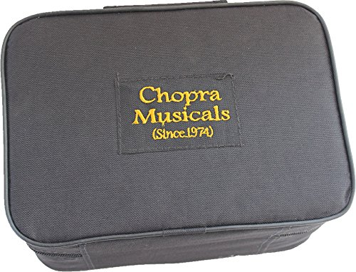 TRUMPET POCKET Bb NICKEL PLATED WITH BAG 7C MOUTH PIECE by Chopra (Image #5)