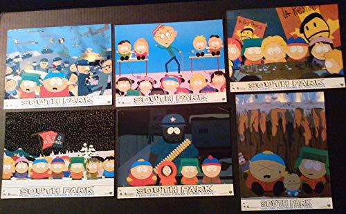 Lobby Card Set~ South Park Bigger Longer & Uncut ~1999 ~Cartman ~Stan ~etc (South Park Bigger Longer And Uncut 1999)