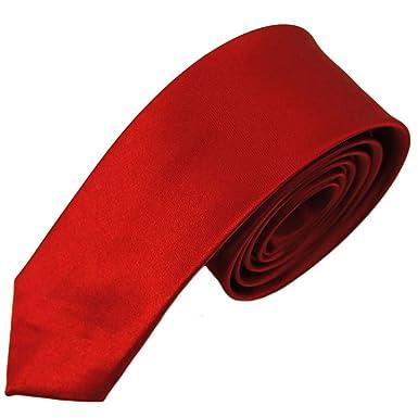 TREESTAR Corbata de poliéster estampada para hombre/Tiras de color ...