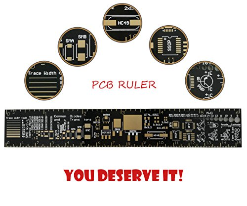 Multifunctional PCB Ruler 6 inch Measuring Tool Design for Electronic Engineers by MakerDoIt