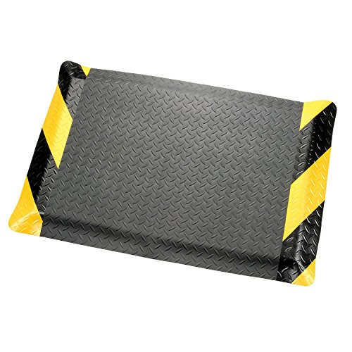 Diamond Plate Ergonomic Mat - Apache Mills Diamond Plate Ergonomic Mat, 36