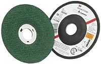 3M(TM) Green Corps(TM) Flexible Grinding Wheel, Ceramic Aluminum Oxide, Center Hole Diameter,13300 rpm, Green (Pack of 20)