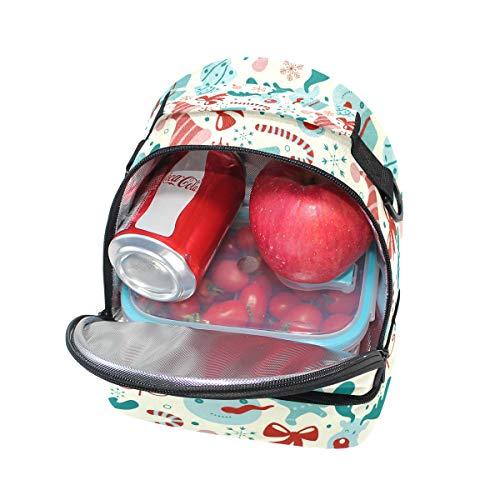 correa nieve de con para la muñeco ajustable Bolsa para escuela con hombro pincnic de almuerzo el de de aislamiento diseño Alinlo con 8wS7t5Bq