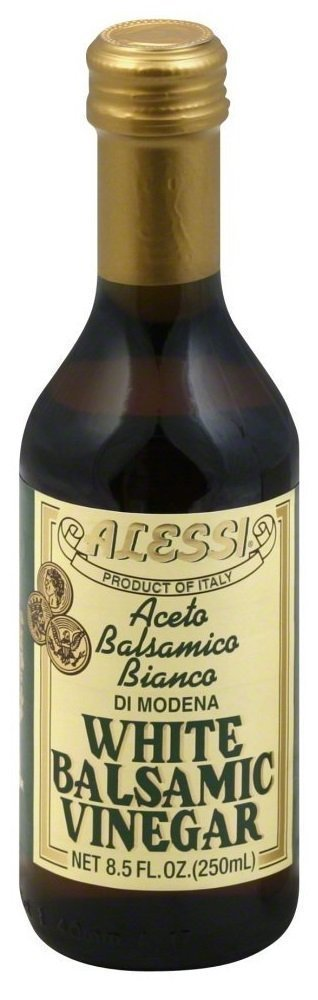 Alessi - White Balsamic Vinegar, 8.5 oz Pack of 2 by Alessi