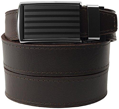 SlideBelts-Mens-Premium-Top-Grain-Signature-Leather-Ratchet-Belt