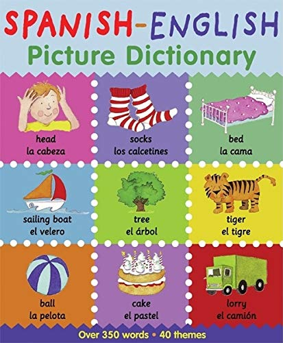 Spanish English Picture Dictionary First Bilingual Picture Dictionaries Bruzzone Catherine Millar Louise 9780764146619 Amazon Com Books