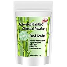 Original Organic Activated Bamboo Charcoal Powder Food Grade Thailand 120g.
