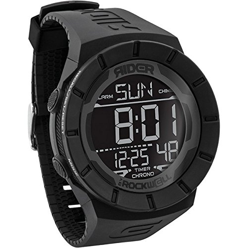 Rockwell Time Unisex RCL102 Coliseum Black Digital Watch from Rockwell Time