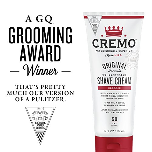 Cremo Original Shave Cream, Astonishingly Superior Smooth Shaving Cream Fights Nicks, Cuts And Razor Burn, 6 FL oz, 2-Pack by Cremo (Image #5)