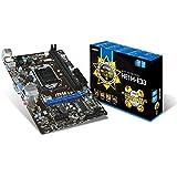 MSI Intel H81 LGA 1150 DDR3 USB 3.1 Micro ATX Motherboard (H81M-E33)