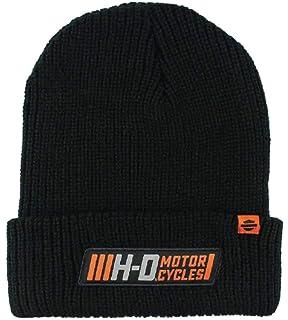 cced4db0a8e Harley-Davidson Men s Traction Woven Rib Knit Cuffed Beanie Cap