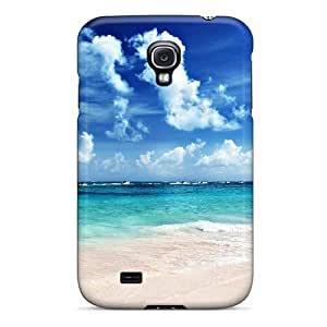Flexible Tpu Back Case Cover For Galaxy S4 - Dream Summer Sailing