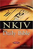img - for The NKJV Daily Bible: Read the Entire Bible in One Year book / textbook / text book