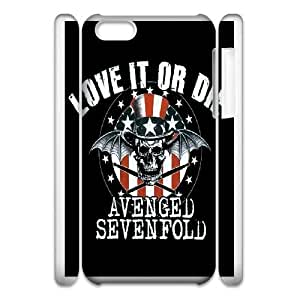 Special Design Case iphone6 Plus 5.5 3D Cell Phone Case White Vcyzn Avenged Sevenfold Band Durable Rubber Cover