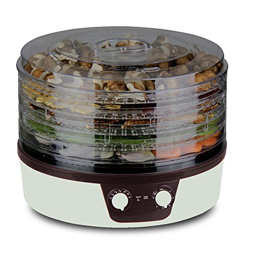 Food-Dehydrator-360-Degree-Rotation-with-Digital-Temperature-Timer-Control
