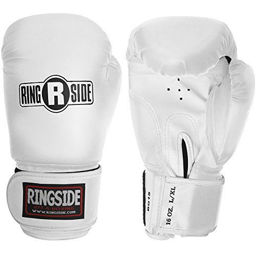 Ringside Striker Training Gloves, White, ()