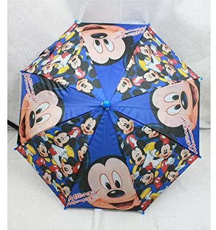 f27f6aa234528 Image Unavailable. Image not available for. Color  Dark Blue Mickey Mouse  Umbrella - Mickey Kids Umbrella