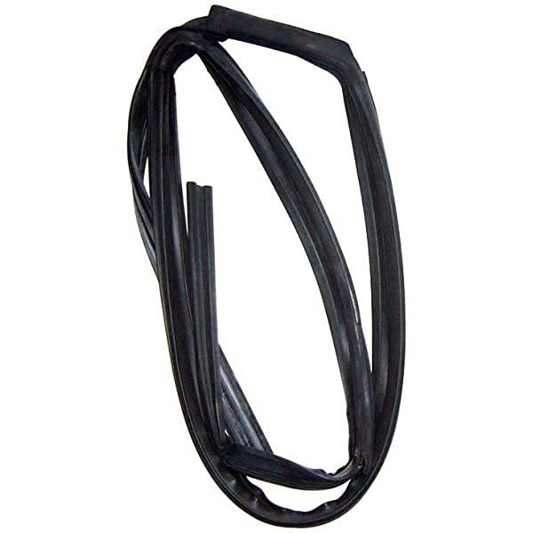 96-00 Civic 4Dr Right Front Window Run Channel Molding Glass Guide Rubber Seal