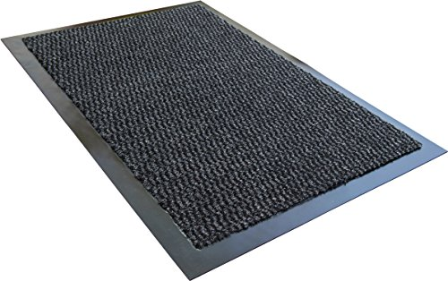 Entrance Scrape (Doortex Advantagemat, Indoor Entrance Mat, Gray, Rectangular, 24