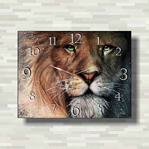 The Chronicles of Narnia 15'' x 11'' Handmade unique Wall Clock - Get unique décor for home or office – Best gift ideas for kids, friends, parents - White Witch Narnia Costume Kids