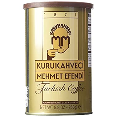 Mehmet Efendi Turkish Coffee 8.8 oz can