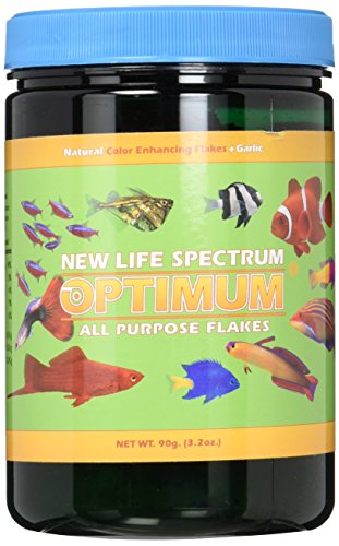 New Life Spectrum Optimum All Purpose Flakes for Fish, 90gm (Best Foods For Fasting Days)