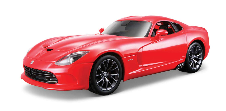 Maisto-Dodge Viper 2013, Red (31128R)