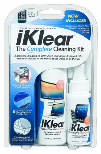 Iclean Display Cleaning Kit - iKlear iK-26K Complete Cleaning Kit