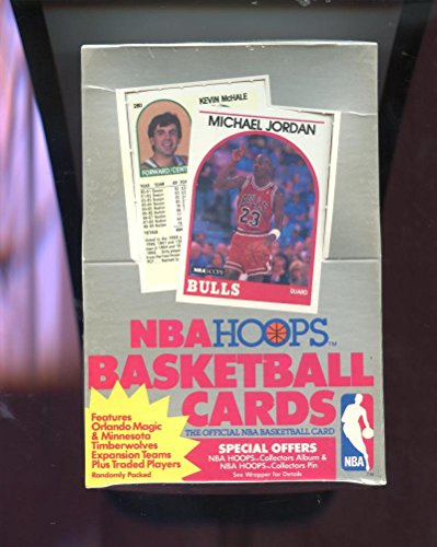 1989-90 Hoops Basketball Wax Pack Box Series 2 from high series