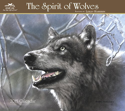 Lesley Harrison - Spirit of Wolves Wall Calendar (2015)