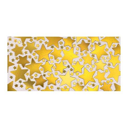 Gold Metallic Star Confetti | 2.5 oz. | Party Decor ()