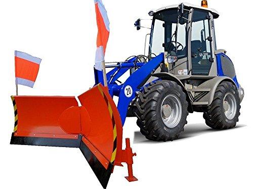 Hydraulikzubehör Schneeschild Vario Multicar Aufnahme Arbeitsbreite 250cm inkl