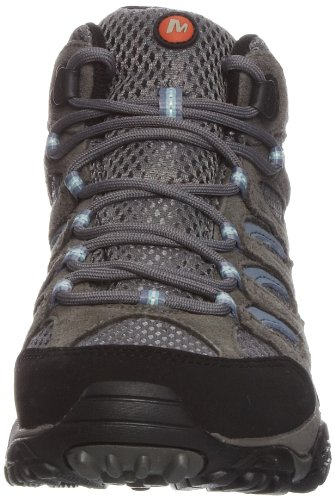 Merrell Women's Moab Mid Gore-Tex High Rise Hiking Boots Multicolour (Grey/Periwinkle) gb2faT