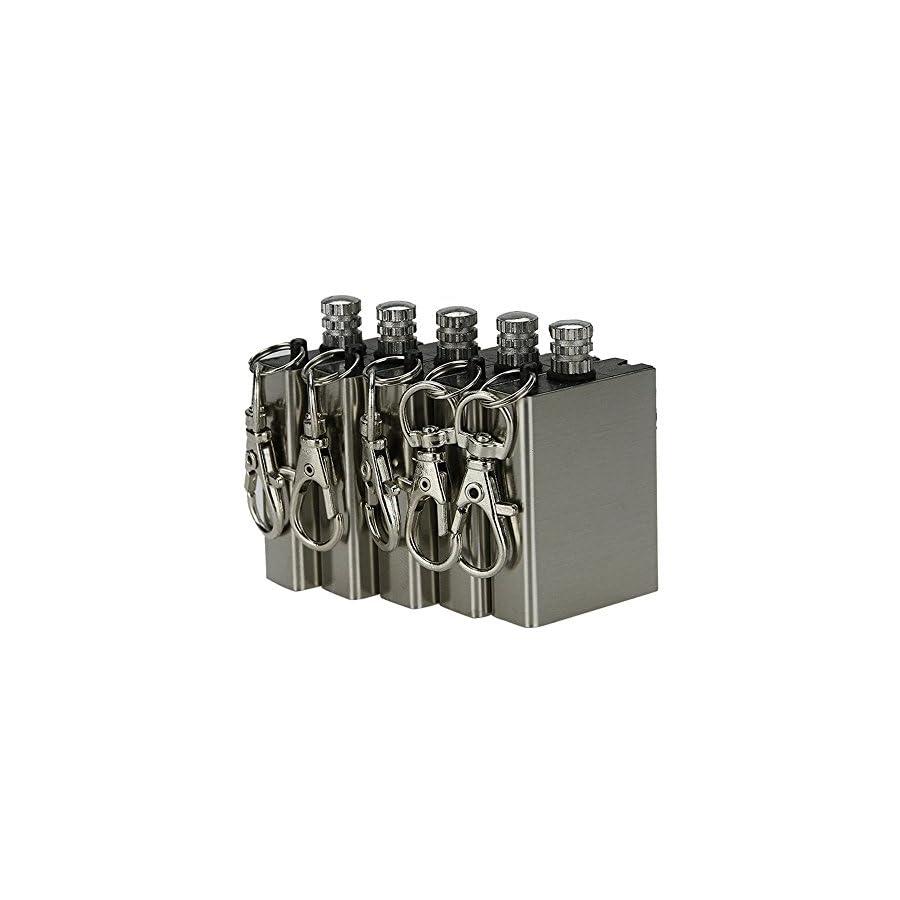 Outdoor Survival Fire Starter Perma Match Gas Oil Permanent Lighter 5 Pack