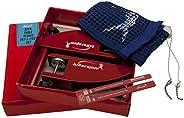 Killerspin Apex Ping Pong Net Set| Adjustable Replacement Table Tennis Net Post Set| ITTF Standard Cotton Nett