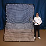 Oncourt Offcourt Tennis Rebounder Net - For Tennis & Pickleball/Double-Sided for Two Players/Indoor & Outdoor