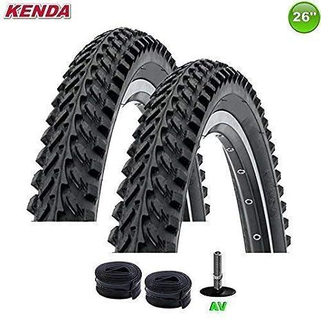 KENDA 2 x K de 898 - Cubiertas para bicicleta techo + Aire AV 26 x ...