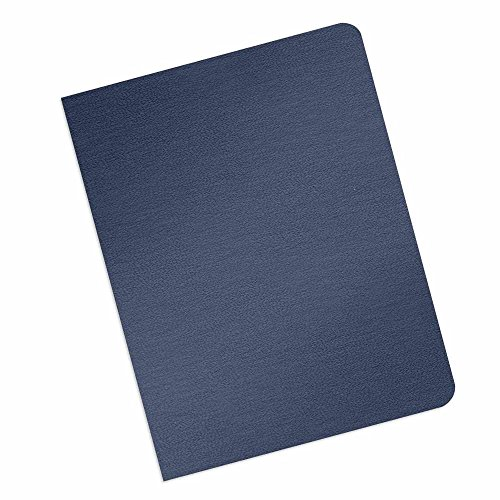 (Grain-Texture Paper Binding Covers - 16-Mil Thickness - Eco-Friendly - Variety of Sizes & Colors - for Business Reports and Proposals - 100 Individual Sheets)