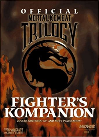 Official Mortal Kombat Trilogy Fighters Kompanion