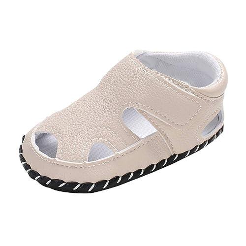 Miyanuby Zapatos Bebe Niño Sandalias Verano Color Sólido ...