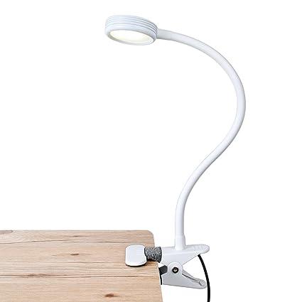 lepower led reading light clip on light flexible bed light with 2 rh amazon co uk