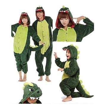 C Schlafoverall DOING Kinder und Erwachsene Schlafanzug Hausanzug Dinosaurier Pajamas Pyjamas Ganzk/örperpyjama,Schlafanzug Einteiler Kost/üm Erwachsenenstrampler